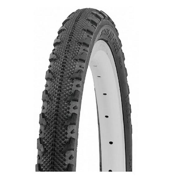Airpro Black Block Bike Tyre 27 x 1.25 Road City