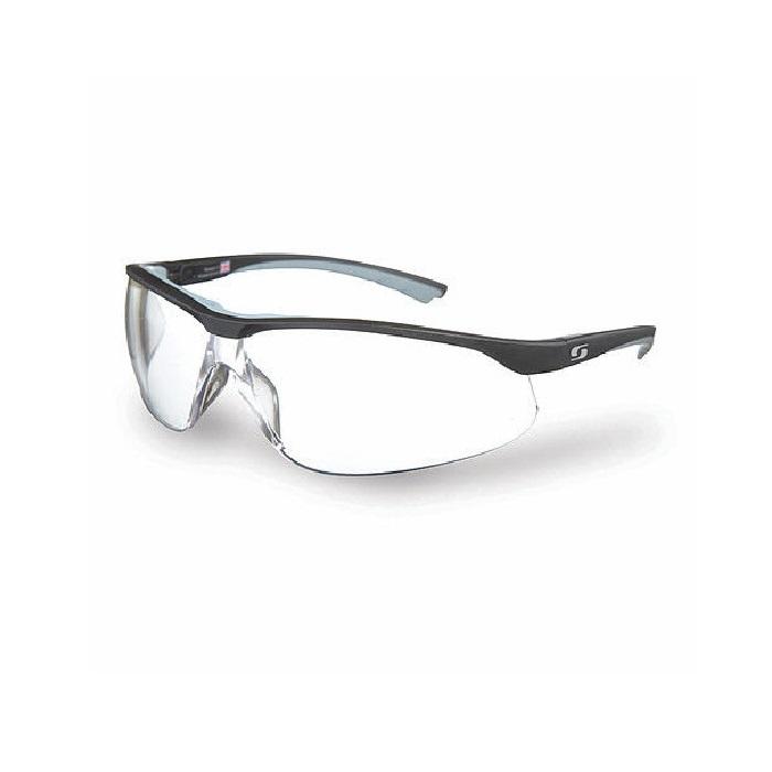 8ad58465e98 Sunwise Bulldog Extreme Safety Glasses - Black Frame  Clear Lens ...