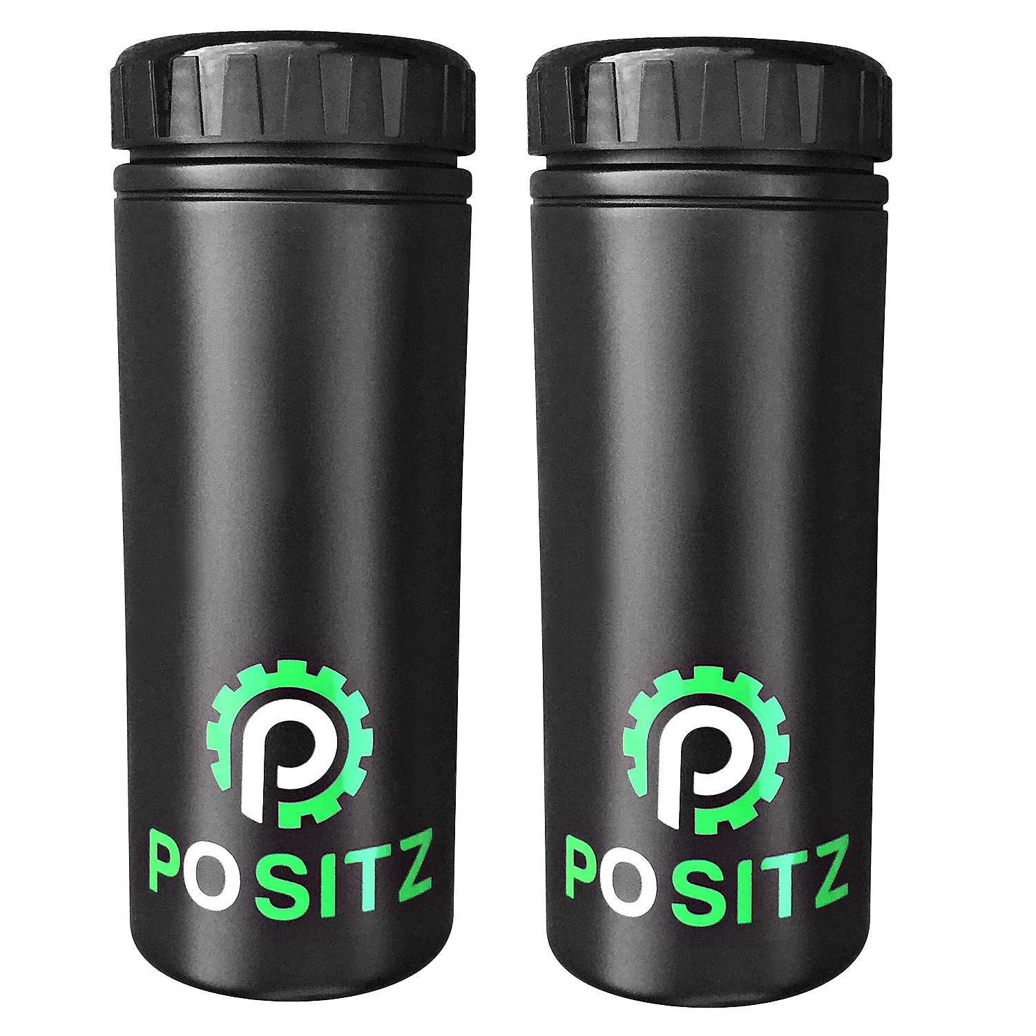 Positz Bike Tool Storage Bottle Large Black x2