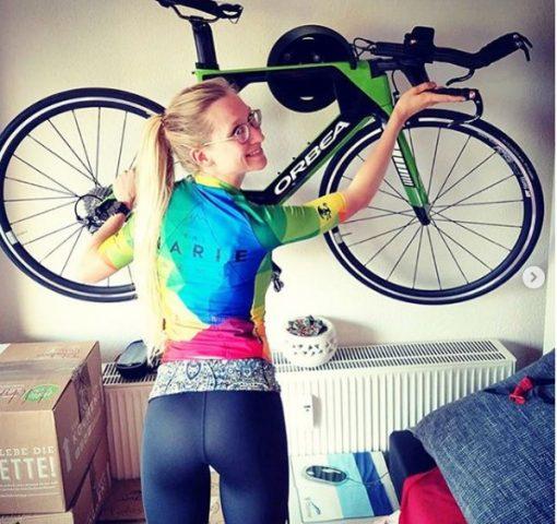 Cycloc with Triathlon Bike