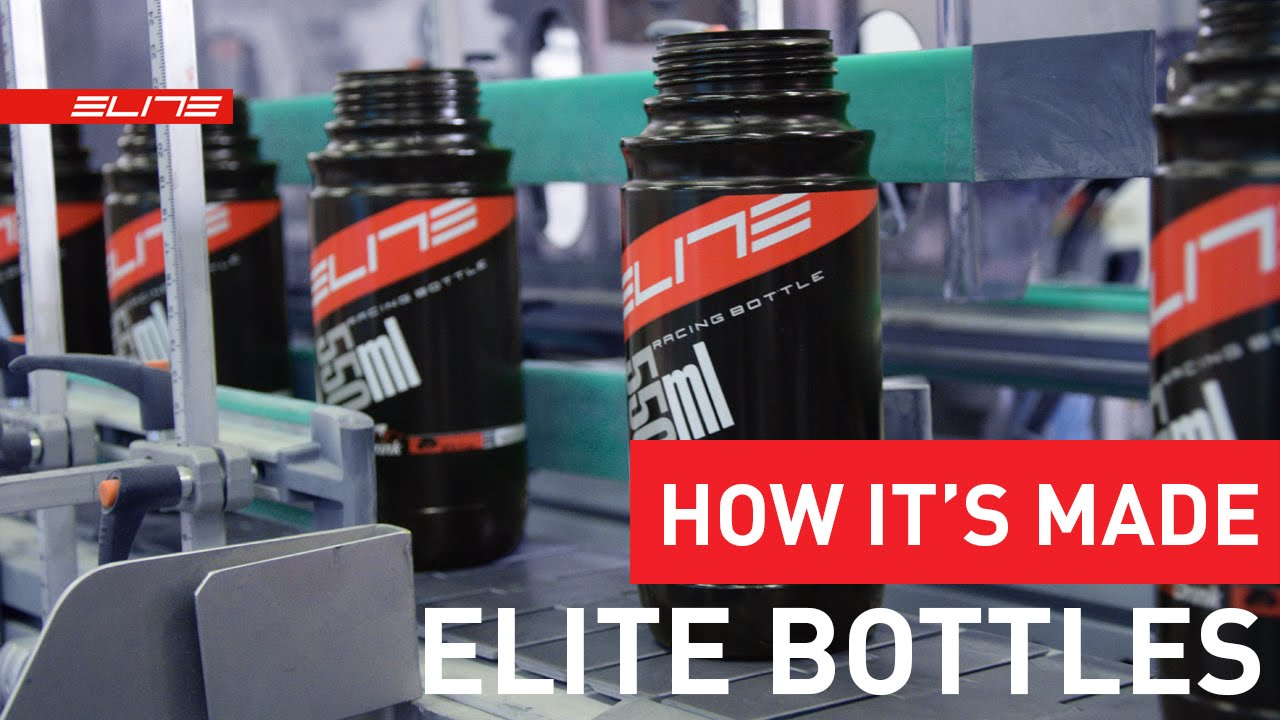 How Elite Water Bottles Are Made
