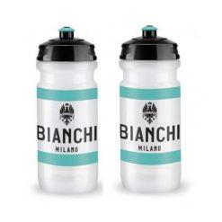 Bianchi Milano Elite Loli Water Bottles - 600ml, White (2 Pack)