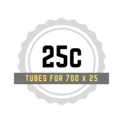 700 x 25 Tubes