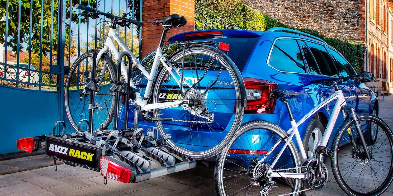 Buzzrack Eazzy Towball Mount Platform 3 Bike Carrier | Mr Cycling World