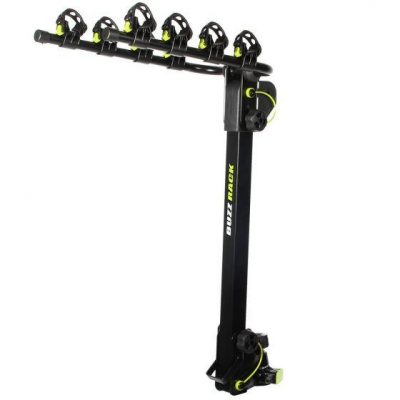 Buzzrack Moose Towball Mount- 4 Bike Carrier