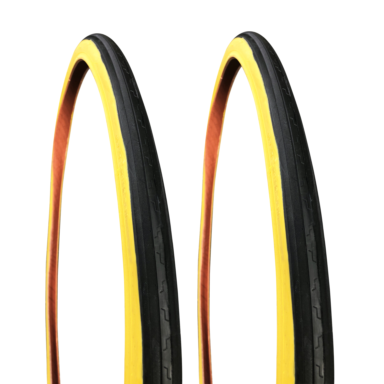Factor AirPro Speed Tread Gumwall Tyres - 27 x 1.25 (2 Pack)