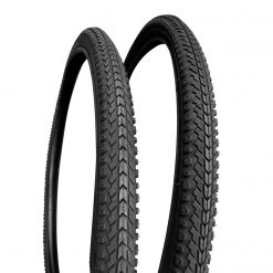 Factor All Black City Urban Tyres - 26 x 1.5 (2 Pack)
