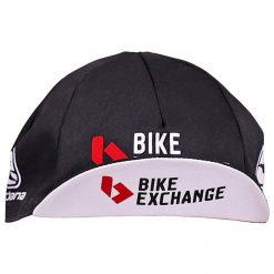 Giordana Team BikeExchange Bianchi Cycling Cap - Black Front