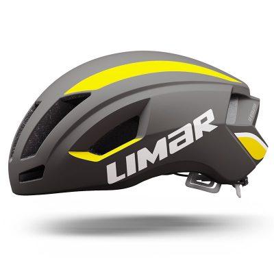 Limar Air Speed Road Bike Helmet - Matt Black/Yellow