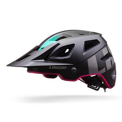 Limar Delta MTB Enduro eBike Helmet – Matt Black/Pink