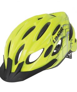 Limar Rocket Kids Bicycle Helmet - Yellow