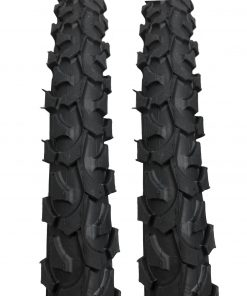 Positz Performance Tyres with Knobby Tread