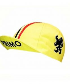 Primo Cycling Cap – Lion of Flanders, Yellow