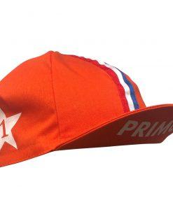 Primo Cycling Cap – Netherlands, Orange