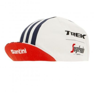 Santini Trek Segafredo Pro Team Cycling Cap – White