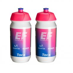 Tacx Shiva Pro Team Water Bottles – 500ml, EF Education First 2019 (2 Pack)