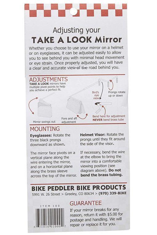 Take a Look Cyclist Mirror