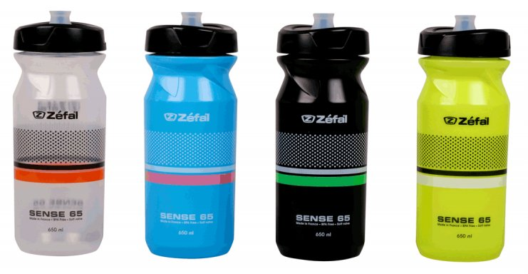Zefal Sense 65 Bottles in Various Colours