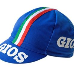Gios Classic Cycling Cap in Blue