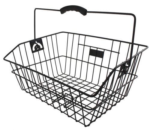 M-Wave-Rear-Classic-Wire-Bicycle-Basket-for-Clip-on-Pannier-Rack