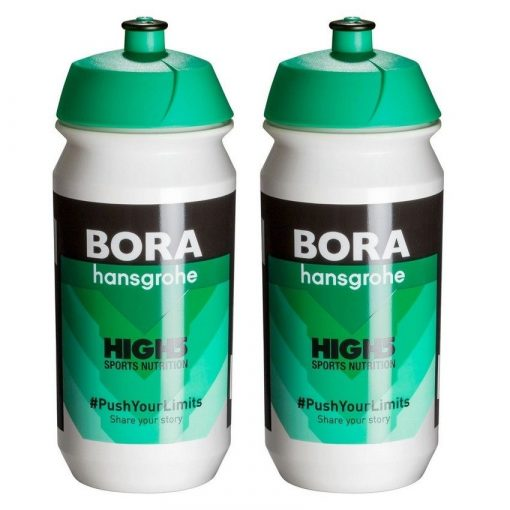 Tacx Shiva Pro Team Water Bottles – 500ml, Bora Hansgrohe (2 Pack)