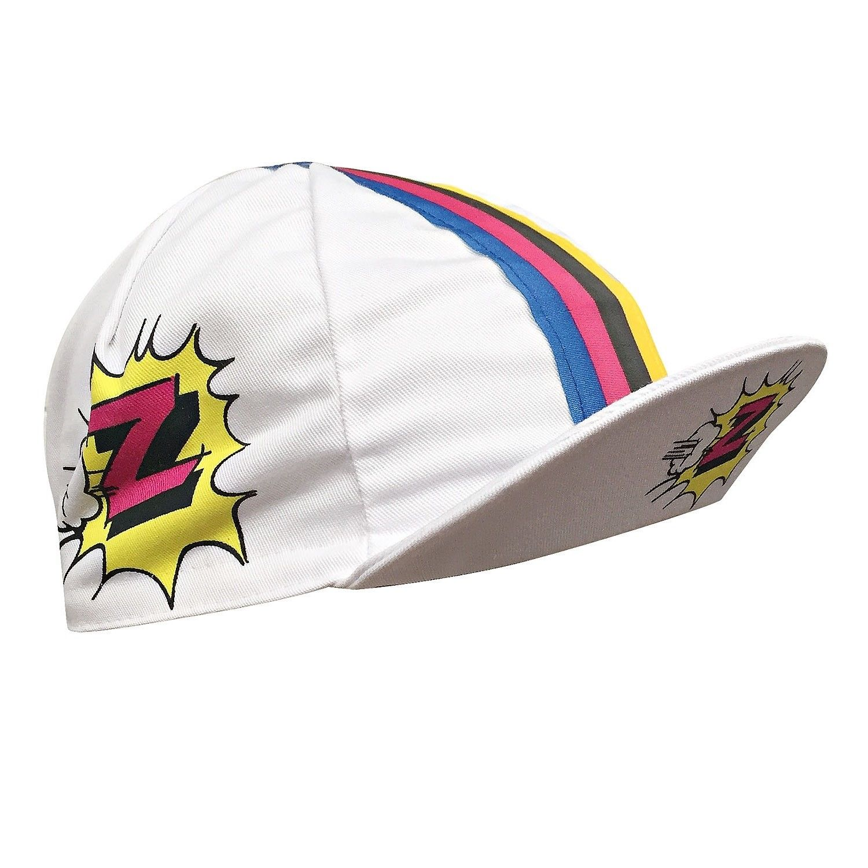 3fffecf3827 Z Team Retro Cycling Cap in Honour of Greg LeMond – World Champion White